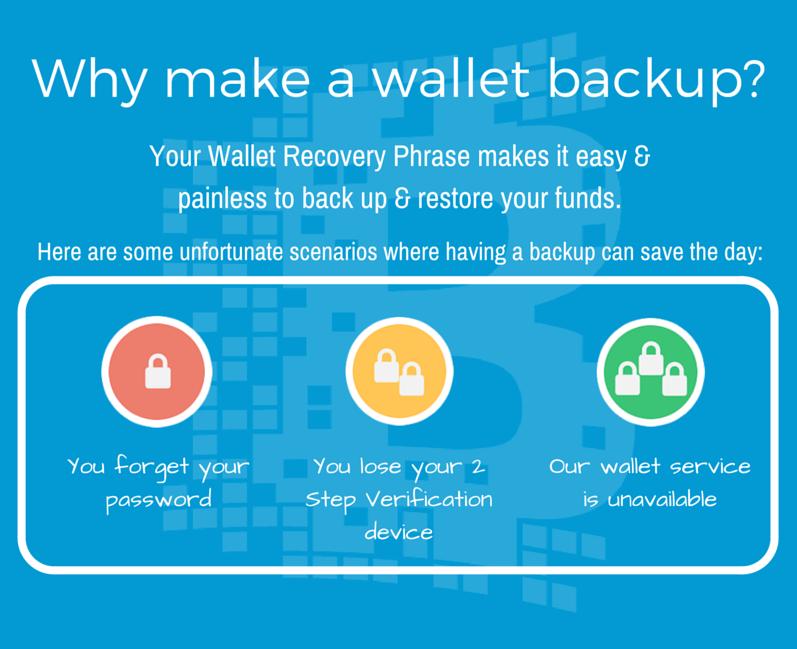 Wallet Back Up