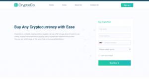 Inscrivez-vous sur le site de CryptoGo