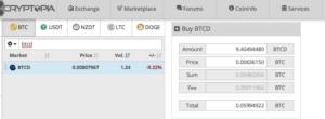 Comprare bitcoindark