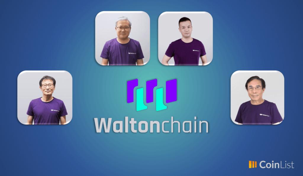 equipo de trabajo de waltonchain