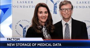 Factom Bill Gates