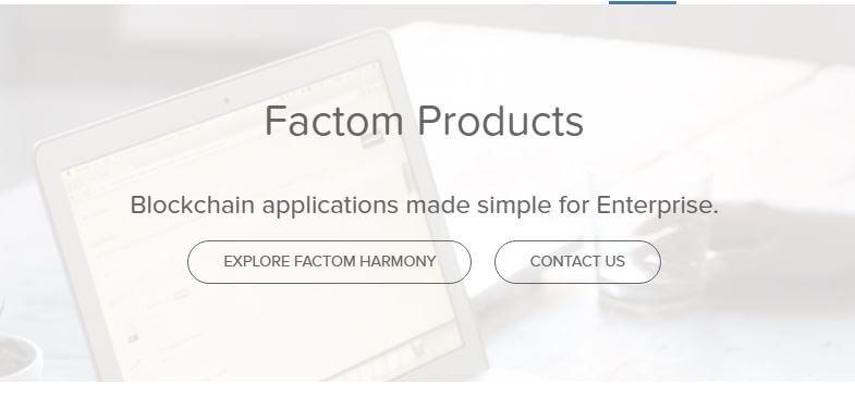 Factom Harmony Pic