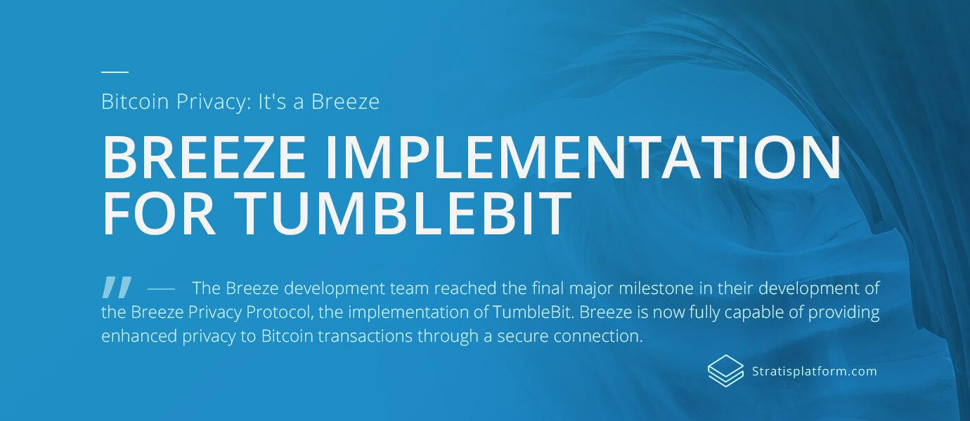 Startis and TumbleBit