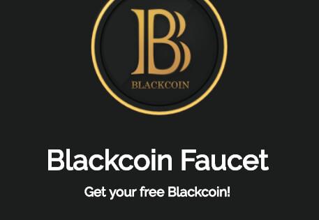 Blackcoin faucet