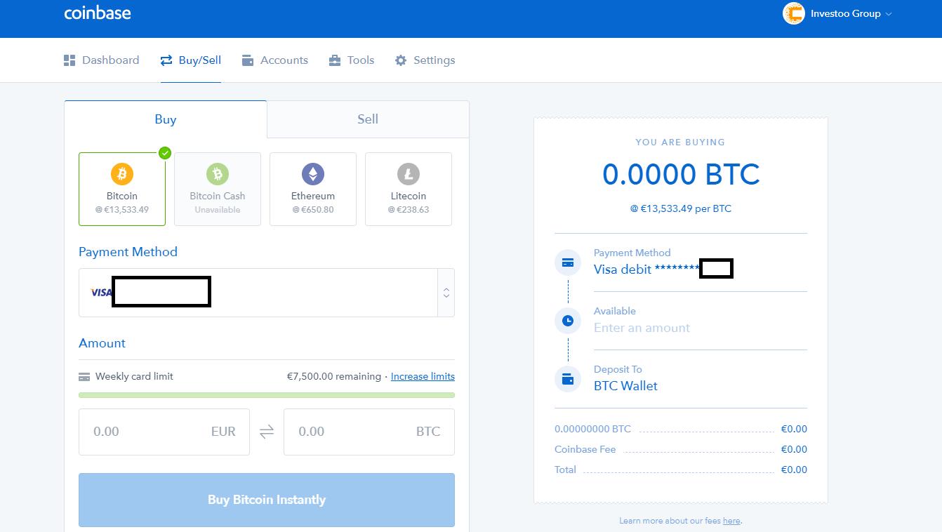 Comprare Ripple su Coinbase